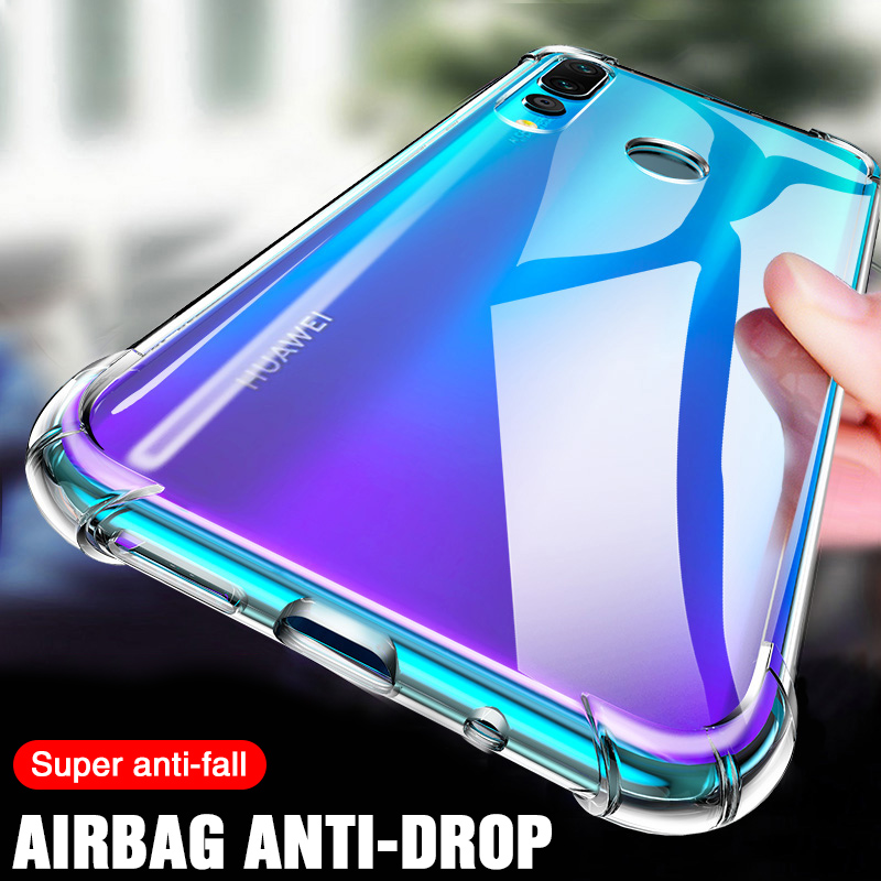 Soft TPU Shockproof Case For Huawei P20 P30 Lite Pro Mate 20 30 Lite Case on Honor 20 Lite Pro V20 Phone Protection Back Cover image