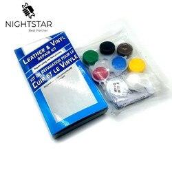 Kit de reparação de couro de pele líquida sofá casacos buracos reparo líquido rasgos rasgos sem calor ferramenta de couro com caixa varejo