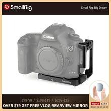 SmallRig L braketi Canon 5D Mark IV III L braketi plaka Tripod Quick Release yan plaka + taban plakası seti 2202