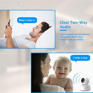 Image 4 - Câmera ip de segurança em casa áudio em dois sentidos hd 720p sem fio mini câmera 1mp visão noturna cctv câmera wi fi monitor do bebê
