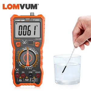Image 4 - LOMVUM Digital Multimeter Auto 6000 Zählt Display Multimeter Tester 2 Sonden Spannung Strom Kapazität Mess