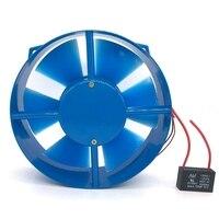 150FZY2-D Único Flange AC220V 30W Caixa de Ventilador de Fluxo Axial Fã Ventilador Elétrico Ventilador de Refrigeração Vento Direção Ajustável
