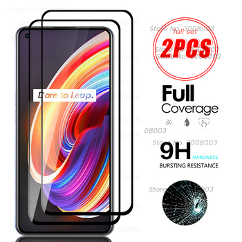 Realmi x7 pro de vidrio 2 uds protectora de cristal para oppo realmex7 verdadero yo x7 x 7 pro x7pro protector de pantalla templado película sklo cubierta