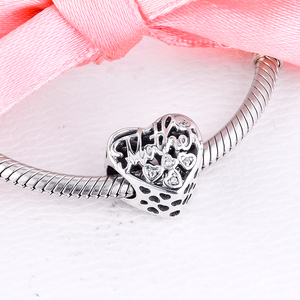 Image 5 - Fits Pandora Bracelet 925 Sterling Silver Mother & Son Bond Charm Silver Beads for Jewelry Making Party Gift for Women kralen