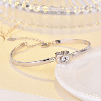 YPD167  925 Sterling Silver Bracelet for men and women wedding engagement holiday gift