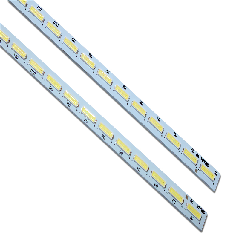 2 Pieces/lot T550HVD02.3 551A04 13227N V341-201 V341-202 LED Strip 74.55T02.001-3-DX1 E117098 E150504 72LED 605MM