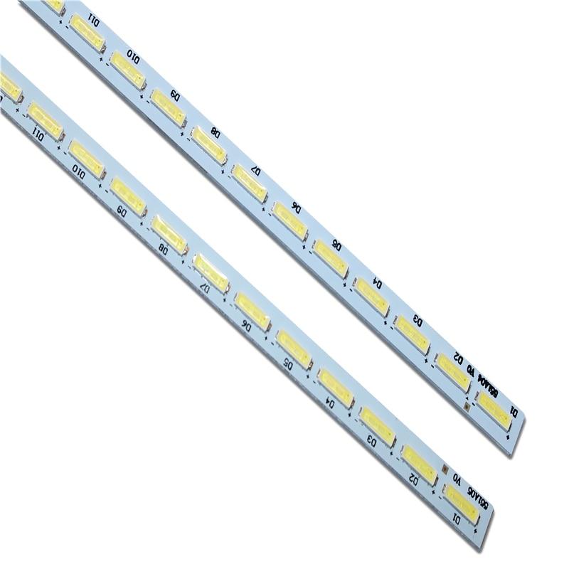 2 Pieces/lot T550HVD02.3 551A04 13227N V341-201 V341-202 LED Strip 74.55T02.001-3-DX1 E117098 E150504 72LED 605MM