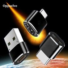 Type C OTG Adapter Converter USB To Type C For Macbook Samsung S9 S8 Oneplus 2 3 Type C To Micro USB Charger Micro USB To Type-C type c