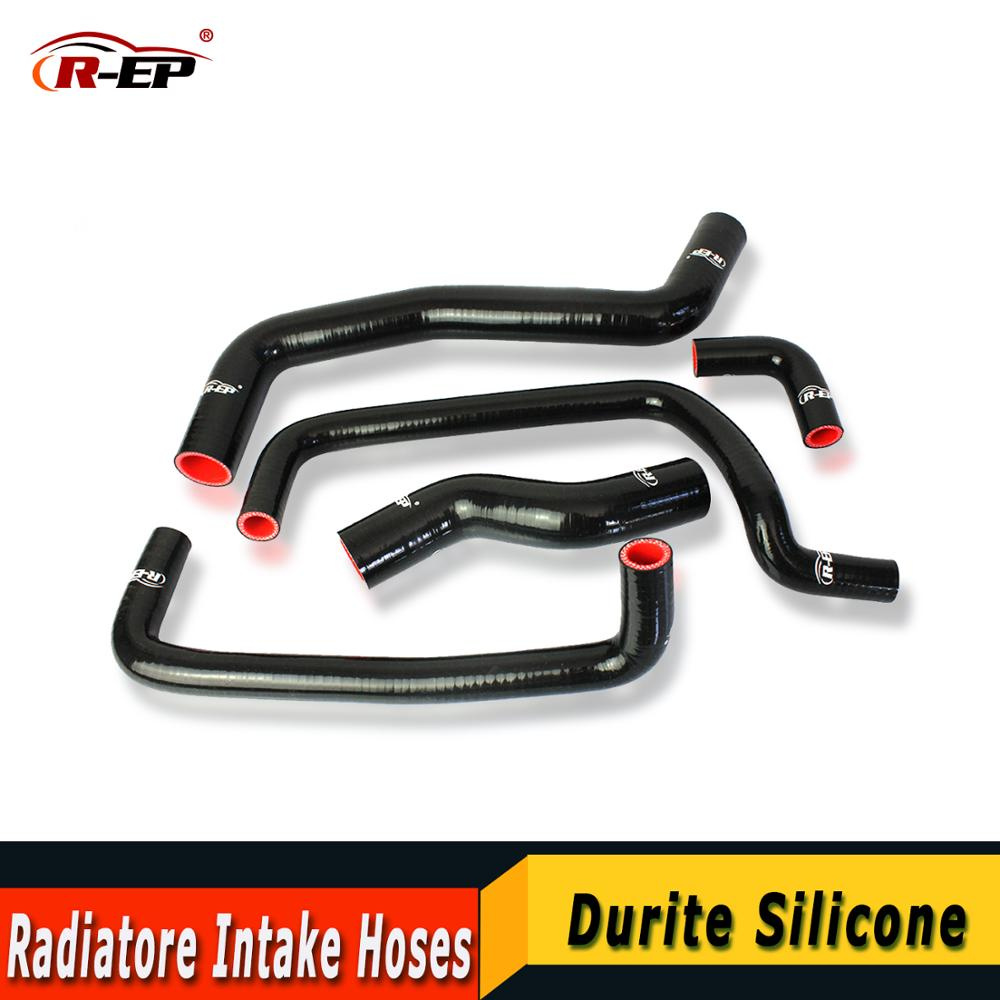 R-EP Radiatore Intake Hose Kit Fits For <font><b>Toyota</b></font> LEVIN Corolla <font><b>AE101</b></font> AE111 4AGE 20V 16V 95-00 Auto parts Coolant Silicone image