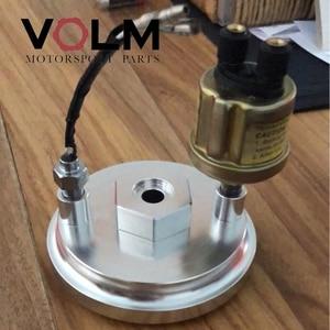 Image 5 - 自動アルミオイルフィルターアダプター油圧と油温bmw e46 e36 e34 車アクセサリーcap03