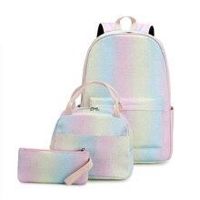 New 2021 Fashion Backpacks School Children Schoolbags For Girls Primary School Book Bag School Bags Printing Backpack Set