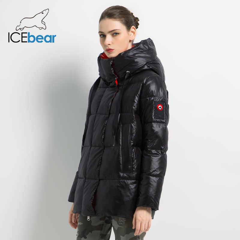2019 New Winter Female Jacket High Quality Hooded Coat Women Fashion Jackets Winter Warm Woman Clothing Casual Parkas GWD19502I