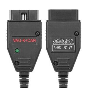 Image 5 - VAG K puede comandante 1,4 K + puede FTDI PIC18F25K80 OBD2 odómetro, herramienta de corrección OBD VAG interfaz de diagnóstico de coche K line para VW/AUDI