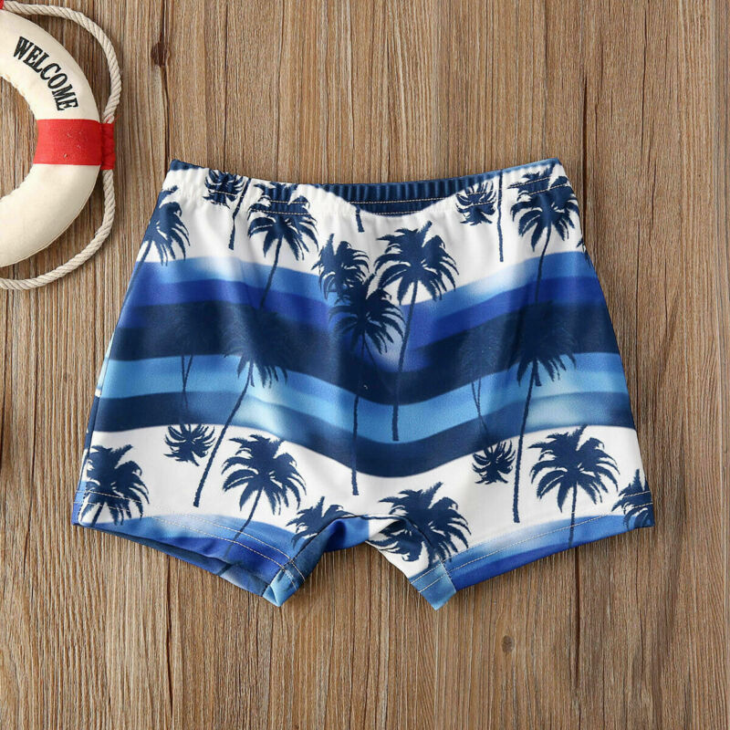 2020 Newest Arrival Summer Toddler Kids Baby Boy Floral Swimming Pants Beach Shorts Bottoms Panties Board Shorts 5