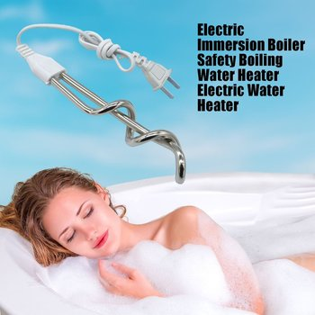 Electric Immersion Boiler Safety Boiling Water Heater Electric Water Heater Fast Heating Burning Bath Hot Water Machine цена 2017