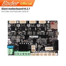 Atualização v4.2.7 mainboard silencioso/placa mãe 32bit para Ender 3/Ender 3 pro/ender 5 peça de impressora 3d creality 3d