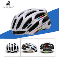 bicycle helmet wite light LED for road mtb mountain bike cycling helmet racing ultralight EPS spare part for bicycle equipment