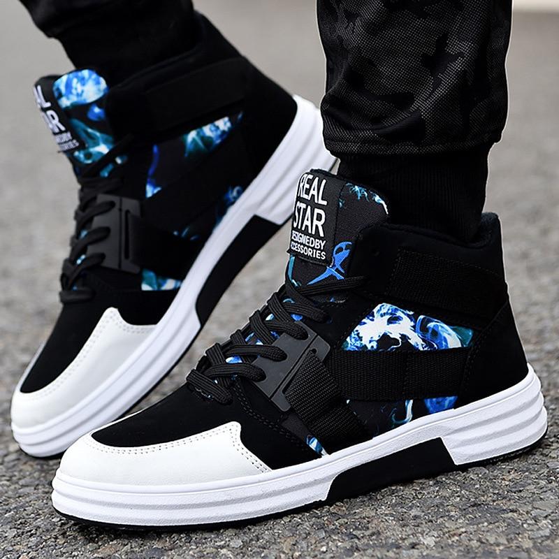 Ultimate SaleôMen Shoes Sneakers High-Top Fashion Comfortable Hombre Non-Slip Outdoor Zapatillas Nanx169