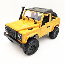 Voiture télécommandée tout-terrain modèle MN 1:12 D90 RC, accessoires de quincaillerie, kit d'assemblage à corps partagé, modification de véhicule électrique