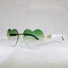 Солнцезащитные очки в форме сердца для мужчин винтажные стильные