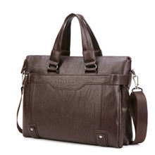 2020 мужской кожаный портфель сделанный из pu14 дюймов мужская