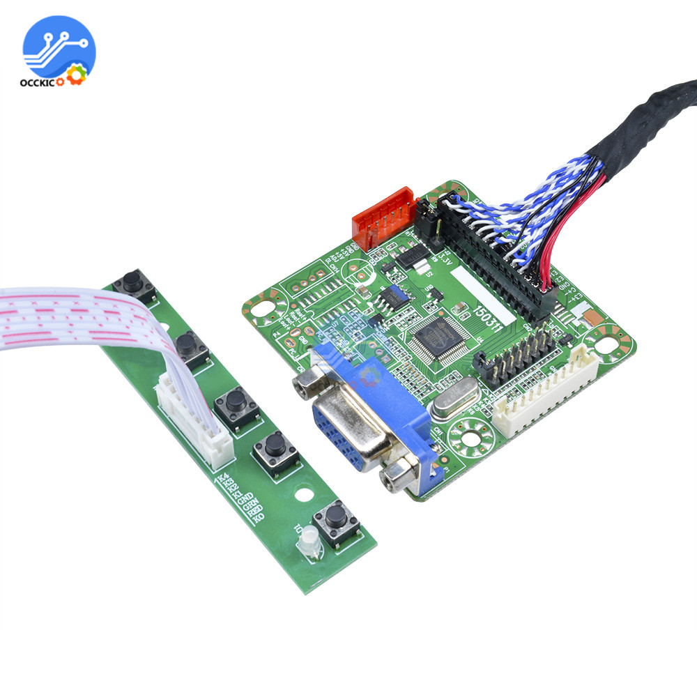 High Quality MT6820-B Universal LVDS LCD Controller Board Kit Laptop Lcd  Screen Driver Board Monitor 5V 10
