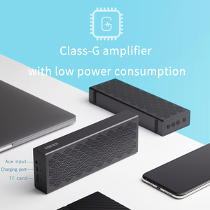 Image 4 - Edifier mp120 bluetooth alto falante bluetooth 5.0 suporte tf cartão aux entrada cnc tecnologia dupla gama completa alto falantes