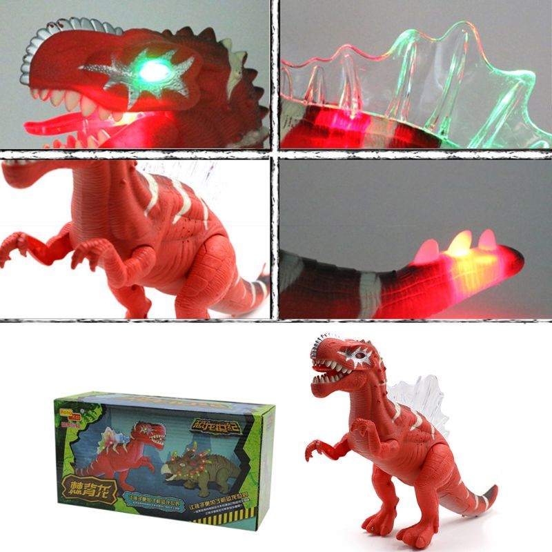 New Electric Toy Simulation Dinosaur Model Toy Boys Girls Children Day Birthday Gifts Q6PD