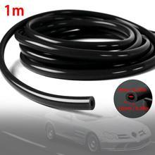 цена на 1 Meter Black 6mm 1/4 Full Silicone Fuel Oil Air Vacuum Hose Line Pipe Tubes Inner diameter 6mm Outer diameter 10mm