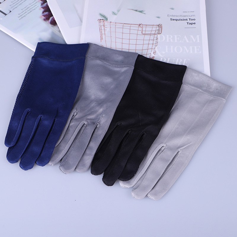 Women Driving Gloves Autumn Summer Sunscreen Thin Spandex Cotton Decent Nonslip Gloves New Style Mittens