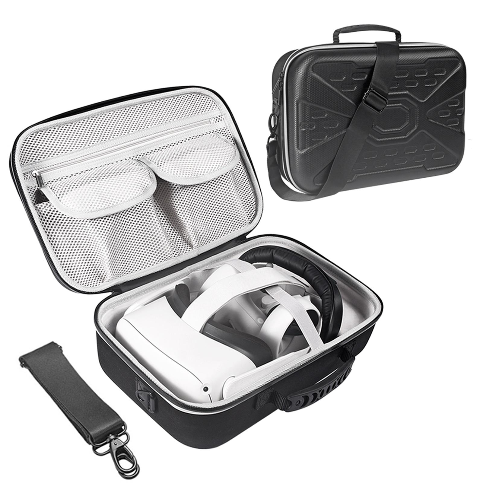 Новая жесткая дорожная защитная коробка EVA, сумка для хранения, чехол для переноски Oculus Quest 2/Oculus Quest, все в одном VR и аксессуары