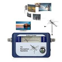 DVB-T цифровой спутниковый сигнал Finder метр антенна наземного ТВ антенна с компасом ТВ системы приема
