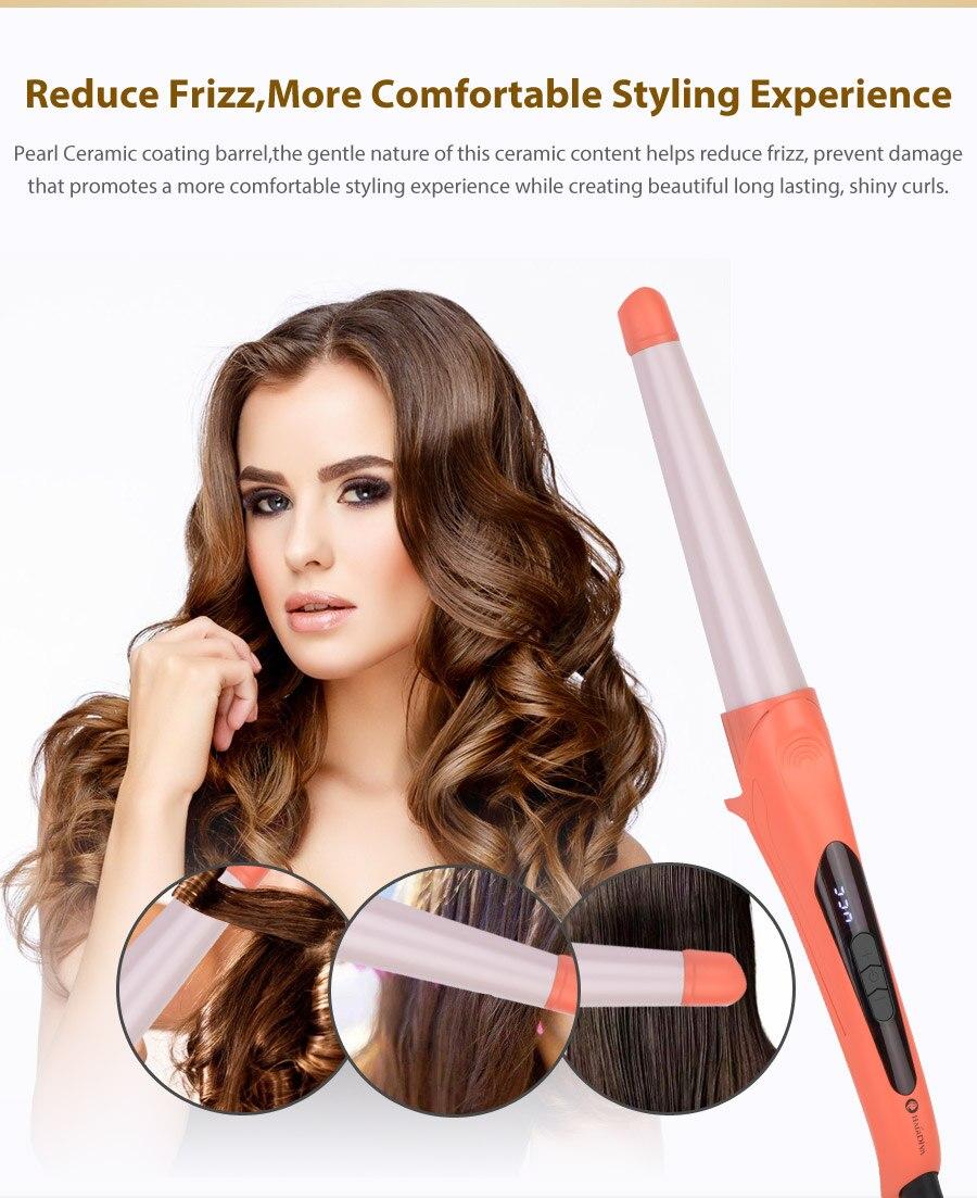 de cabelo onda ferramentas estilo do cabelo em corel vermelho