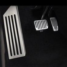 Педали автомобильные газовые тормоза для ног педаль Крышка для Tesla модель 3 Model3- акселератор pegale автомобильный Стайлинг