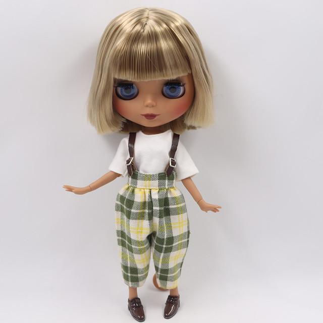 Рабекка - Бүрэн хувцастай, хөөрхөн царайтай Дээд зэрэглэлийн захиалгат Blythe хүүхэлдэй
