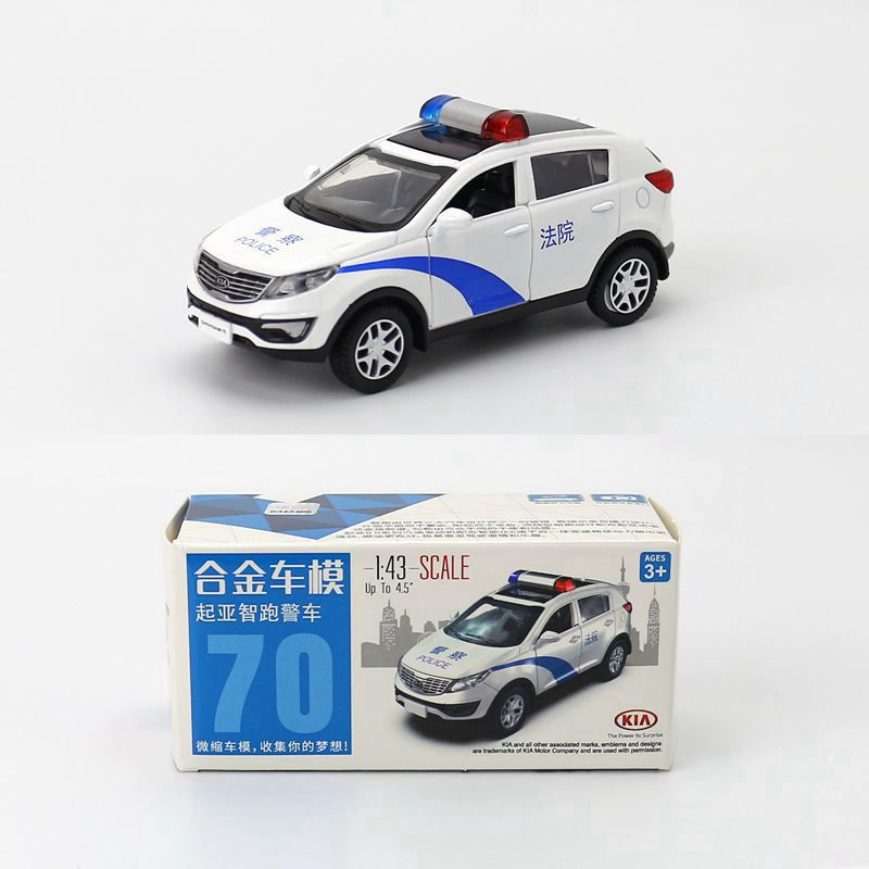 1:43 Scale Pull-back Police-Car Court Car Alloy Diecast Metal Model Car For Boy Toy Collection Friend Children Birthday Gifts