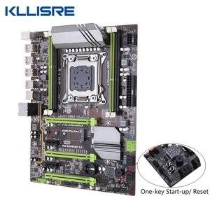 Image 2 - Kllisre X79 Moederbord Set Met Xeon E5 2689 4X8 Gb = 32 Gb 1600 Mhz DDR3 Ecc Reg geheugen Atx USB3.0 SATA3 Pci E Nvme M.2 Ssd