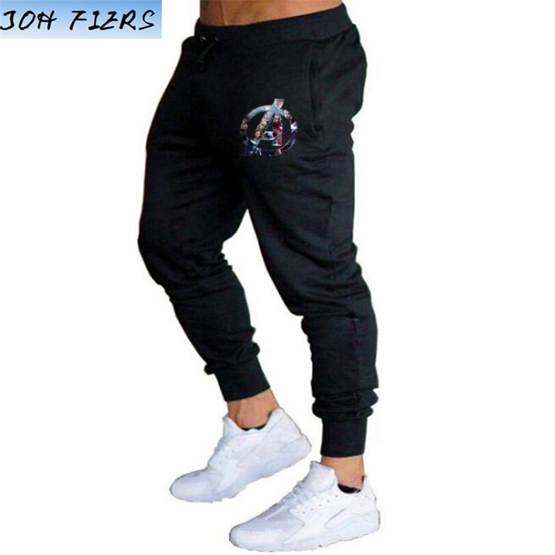 Marvel Avengers Endgame Autumn Thin Brand Men's Trousers Joggers Men Pants Casual Men's Fitness Sweatpants Big Size XXL