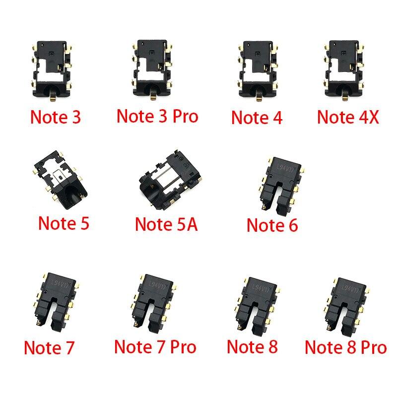 2pcs/lot Earphone Headphone Jack Audio Flex For Xiaomi Redmi Note 3 4 5 5A 6 7 8 Pro