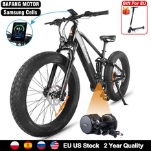Fat e Bike 750W Bafang Mid Drive Motor Electric Bicycle 14Ah Samsung Battery Bicicleta Electrica Adult Snow Beach ebike 55KM/H