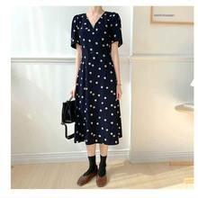 Корейская версия шикарное Ретро женское летнее платье новое