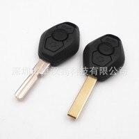 BMW 5 M5 E39 E60 E61 yerine orijinal fabrika oto araba anahtarı/yüksek kaliteli KEBM 3 düğmeler değişim araba anahtarı kabuk