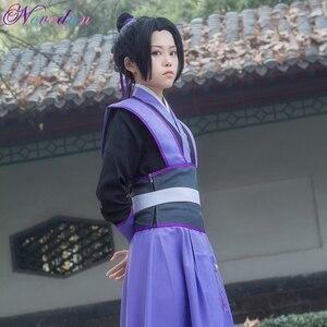 Cosplay Costume Animated Version Jiang Cheng Wei Wu Hao Juvenile Anime Costume Halloween Ancient Hanfu Ninas(China)