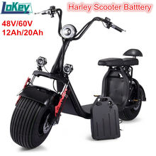 Batterie au lithium li ion 60V 12Ah 15Ah 20Ah pour gros pneu X6 X7 X8 scooter électrique moto électrique + chargeur rapide