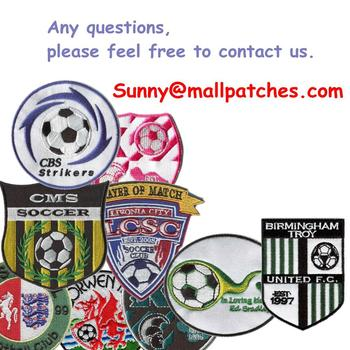Embroideried patches Logo Patches Custom College Patches Embroidery patches For Clothing Heat Transfer Backing Badges фото