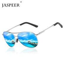 JASPEER Men Polarized Sunglasses Brand Male Sun glasses Alloy Frame Outdoor Sport Driving UV400 Eyewear Очки