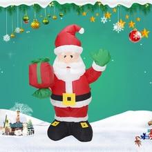 Игрушки для детей, надувной ночной Светильник Санта-Клауса, наружные садовые игрушки, надувные игрушки для рождественской вечеринки, забавные подарки# A20