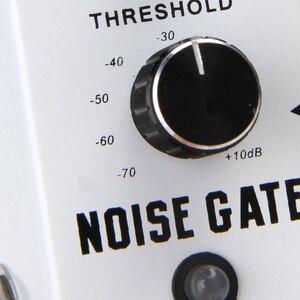 Image 4 - Rowin Noise Gate redukcja szumów tłumik pedał efektów gitarowych 2 tryby True Bypass powłoka ze stopu aluminium akcesoria gitarowe