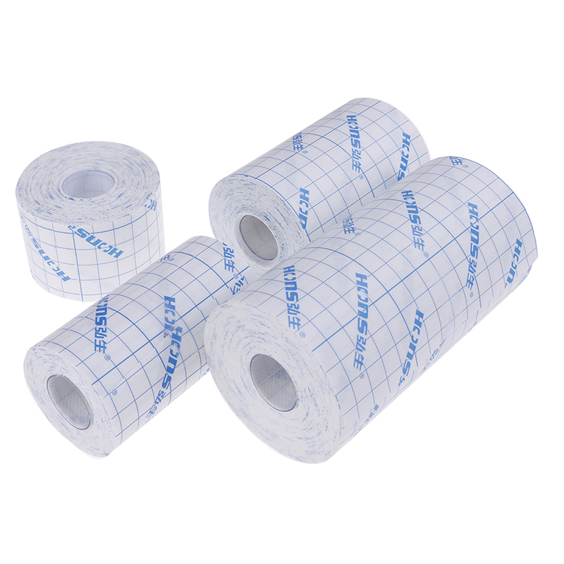 1 X Medical Non-woven Tape Waterproof  Adhesive Breathable Patches Bandage First Aid Hypoallergenic Wound Dressing Fixation Tape