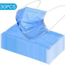 30PCS Medizinische Maske Staubdicht Chirurgische Gesicht Mund Masken Anti PM 2,5 Anti Staub Atem Sicherheit Gesicht Schutzmasken Schnelle verschiffen
